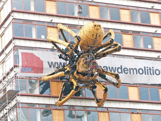 Giant Robot Spider