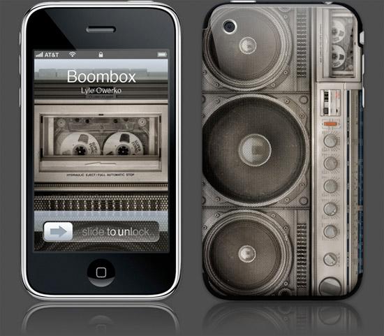 Boombox Gelaskin