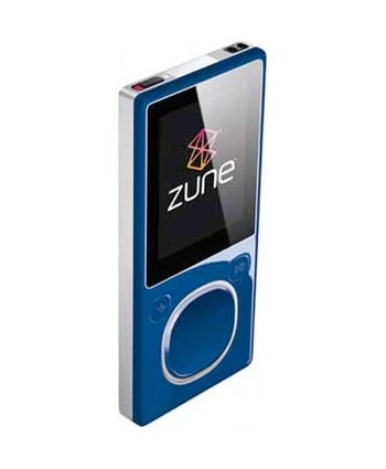 Zune 120GB + 8GB