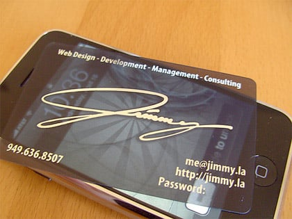 70 Awesome Business Cards