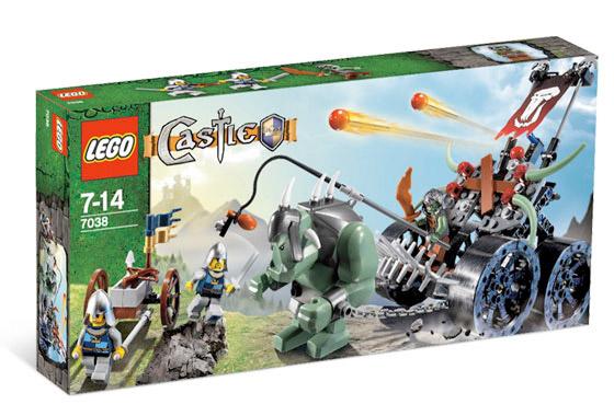 Castle Troll Assault Wagon
