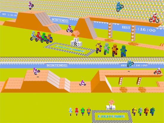 Wallpaper: 3D NES Games