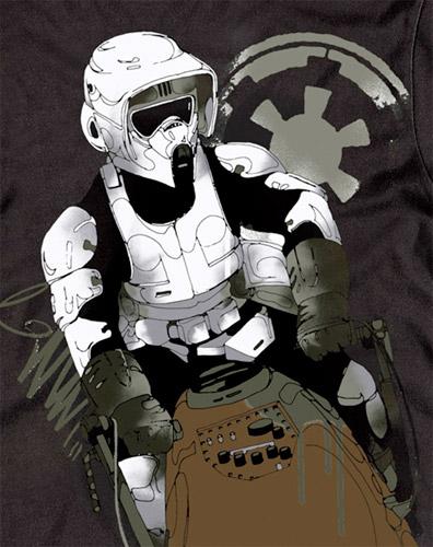Star Wars Biker Scout