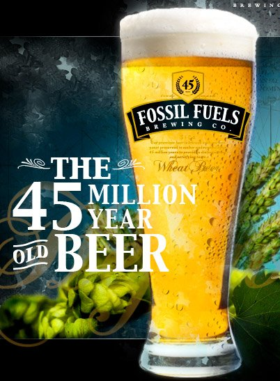 Fossil Fuels Beer