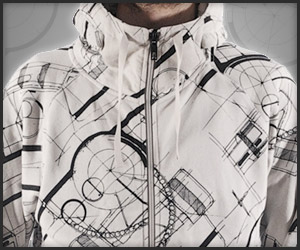 Syd Mead Method Zip Hoody