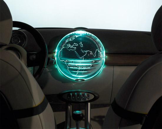 Concept: Mini 3D Globe