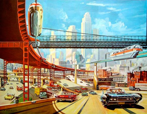 Pictures: Retrofuturism