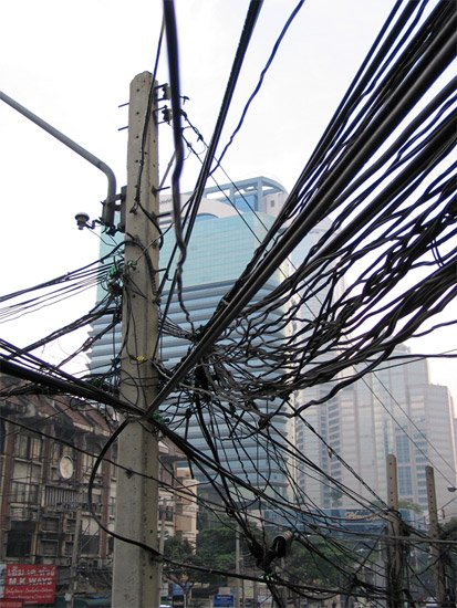 The Wires of Bangkok