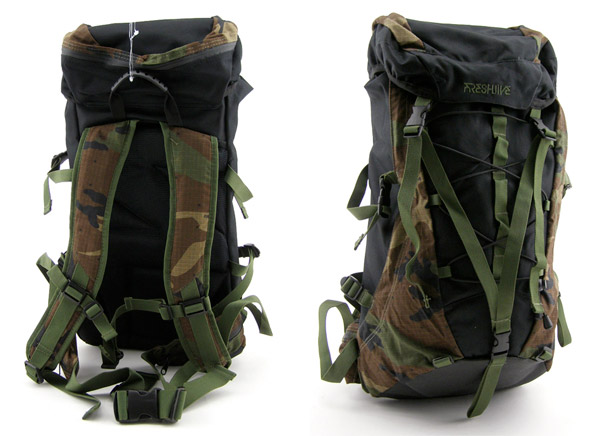 Freshjive Camo Backpack