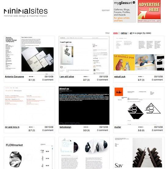 Website: MinimalSites.com