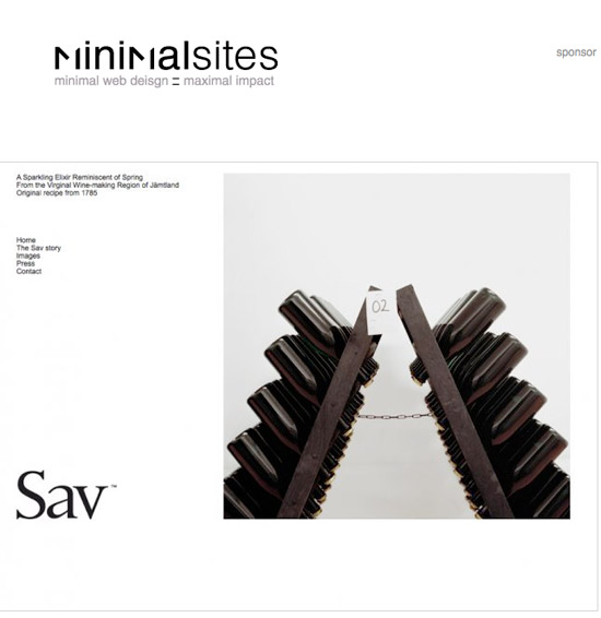 Website: MinimalSites.com