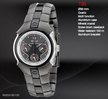 Sector Sport 195 Watch