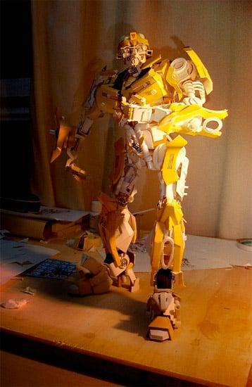 Transformers Papercraft