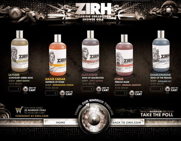 ZIRH Warrior Gel