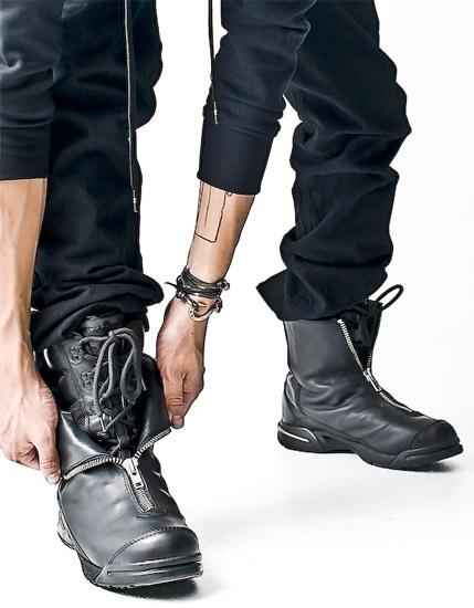 Y-3 Zipped Sneaker Boots