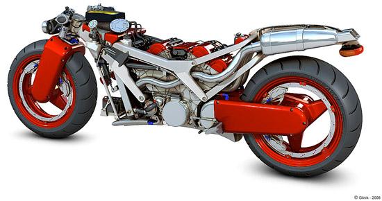 Concept: Ferrari Motorcycle