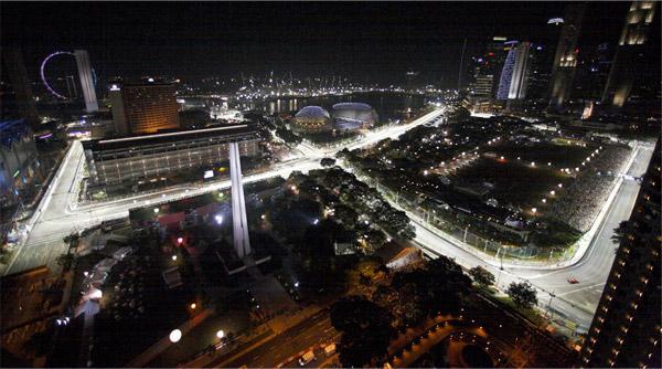 Pics: Singapore Night Race