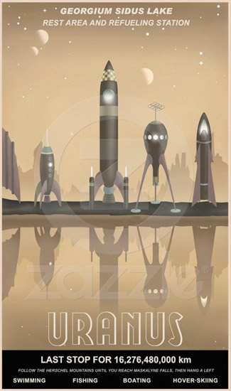 Interplanetary Travel Posters