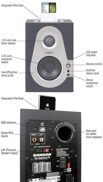 Samson StudioDock 3i