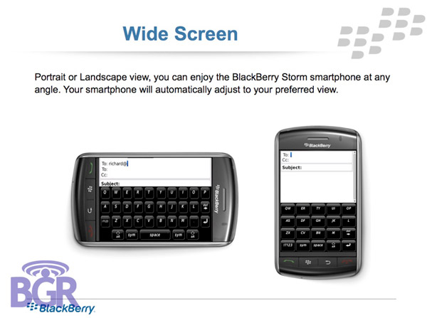 BlackBerry Storm 9530