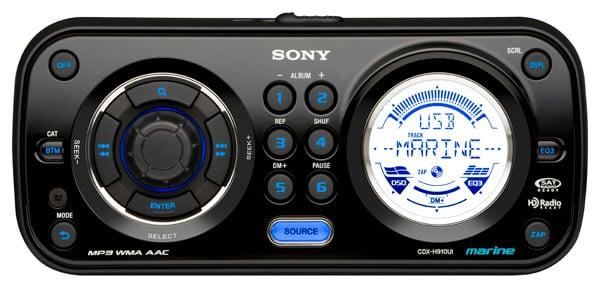 Sony Marine Headunit