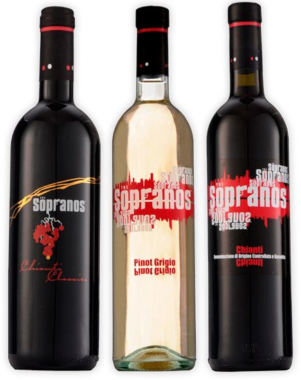 The Sopranos Wine