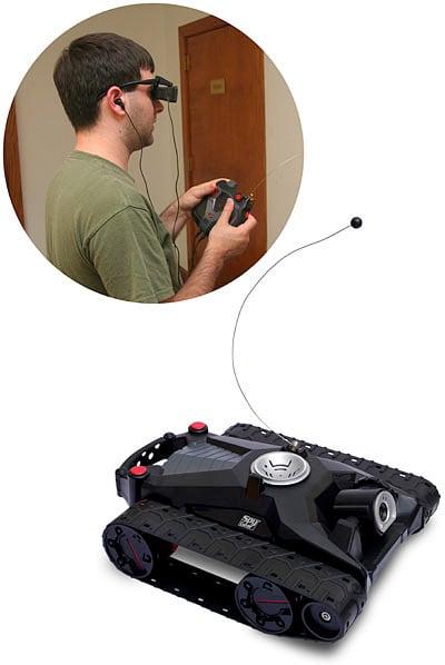 R/C Spy Video ATV-360