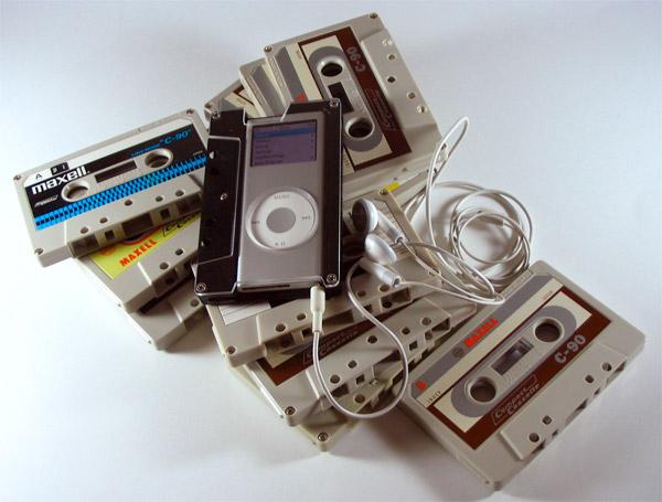 iPod Cassette Cases