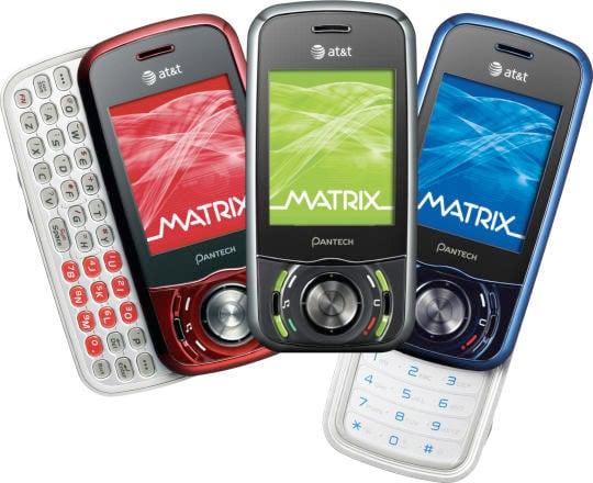 Pantech Matrix Cellphone