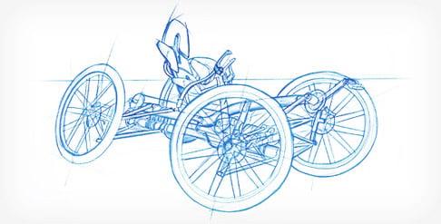 CarvX Recumbent Bike