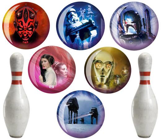Star Wars Bowling Balls