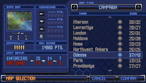 Endwar DS/PSP