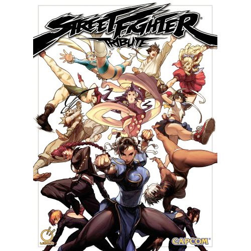 Book: Street Fighter Tribute