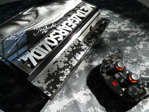 Custom MGS PS3 Case