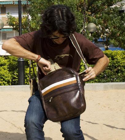Keith Retro Laptop Bag