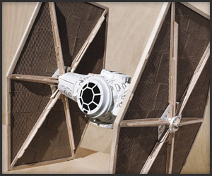 Starbucks TIE Fighter