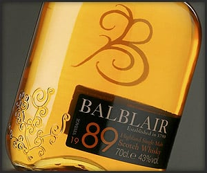 Balblair Highland Whisky