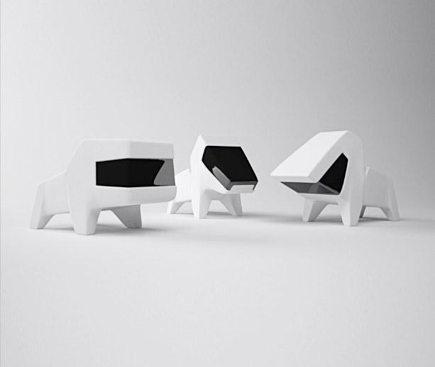 Concept: Dog Bookstands
