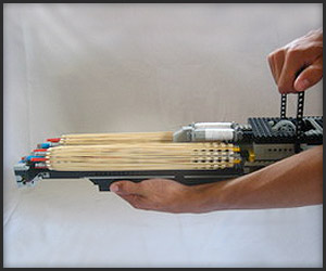 Video: LEGO Minigun