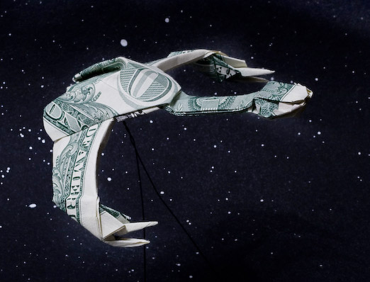 Star Wars/Trek Origami