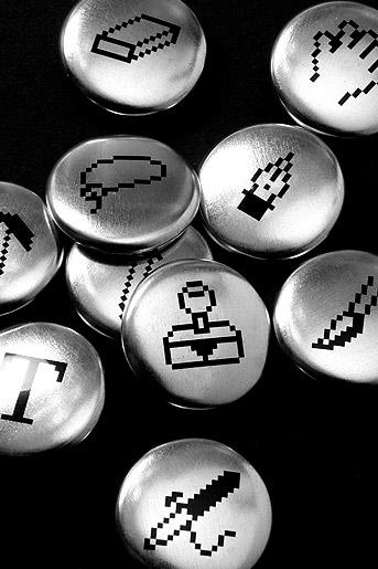 Supermandolini Badges