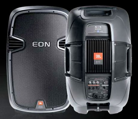JBL Eon 510 Speakers