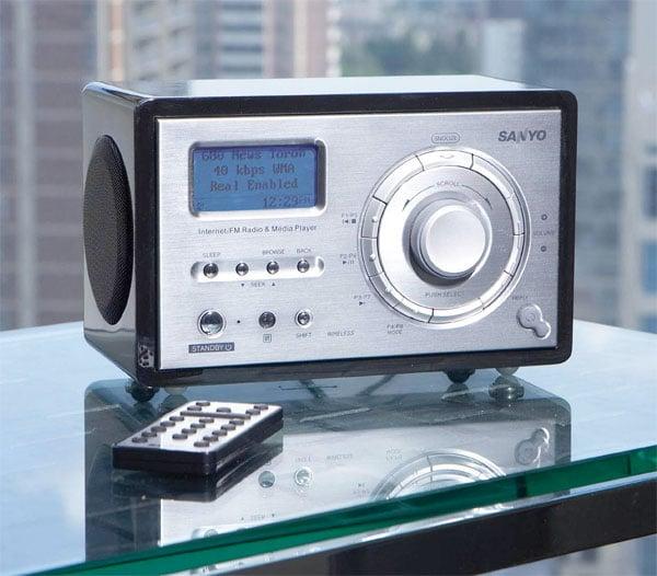 Sanyo R227 Wi-Fi Radio