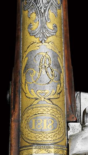 Grosnaia Flint-Lock Pistol