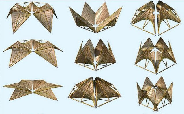 Origami Folded Houses