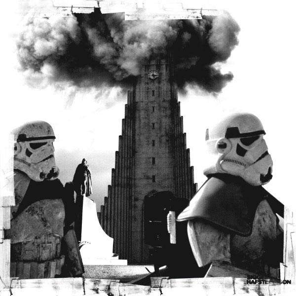 Star Wars Halftone Art