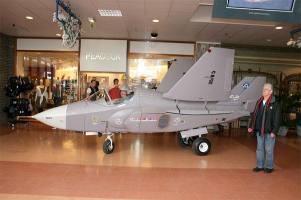 Homemade F-35 Jet