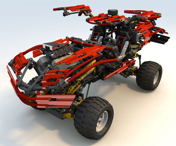 Lego Technic Supercars The Awesomer