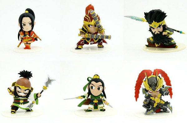 Dynasty Warrior 6 Figures