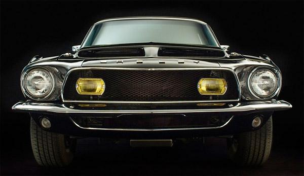 Shelby Black Hornet